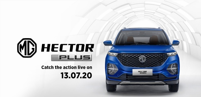 Live launch of MG Hector Plus